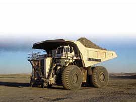 利勃海尔T 282 C铰接式自卸卡车