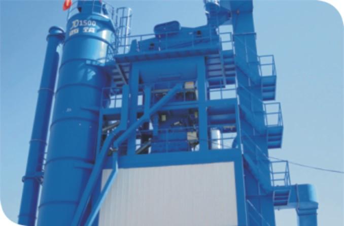 中交西筑JD1500沥青混合料搅拌设备外观图4