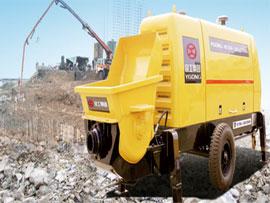 宜工拖式混凝土泵拖泵