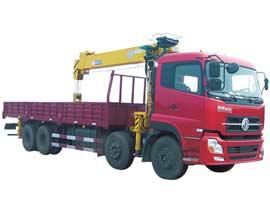 石煤QYS-12ⅢA随车起重机图片