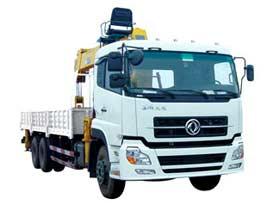 石煤QYS-10ⅢA随车起重机图片