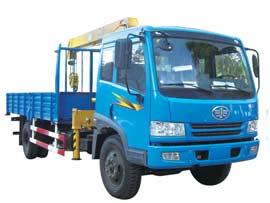 石煤QYS-4Ⅱ随车起重机