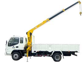 石煤QYS-2ⅡB随车起重机