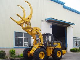 建德机械ZLJ50夹木轮式装载机