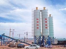 陆德筑机WCBD400稳定土厂拌设备