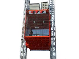 广州京龙双导轨架式施工升降机