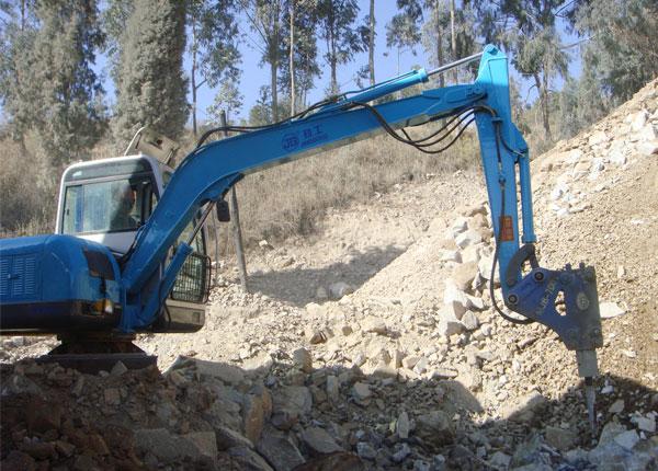 劲工电动固定式破拆站其它挖掘机
