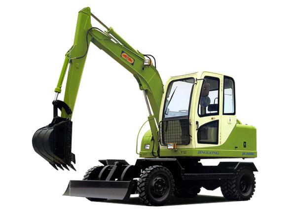 劲工JG608C轮式挖掘机