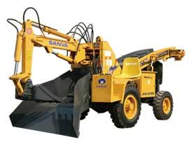 山挖重工SW70挖掘装载机图片