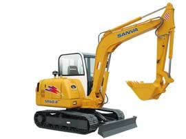 山挖重工SR60-8液压挖掘机图片