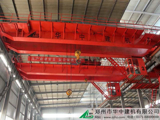 华中建机电动双梁桥梁式起重机图片