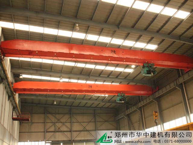 华中建机电动单梁桥梁式起重机图片