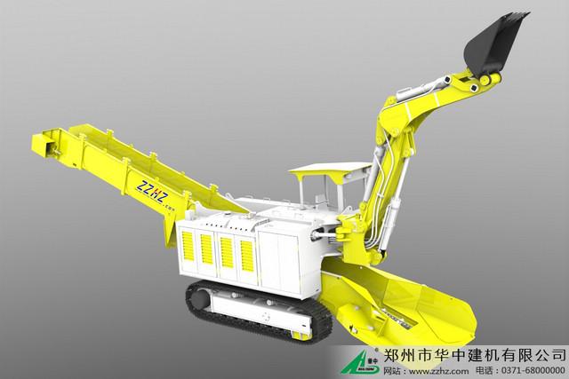 华中建机wz挖掘装载机