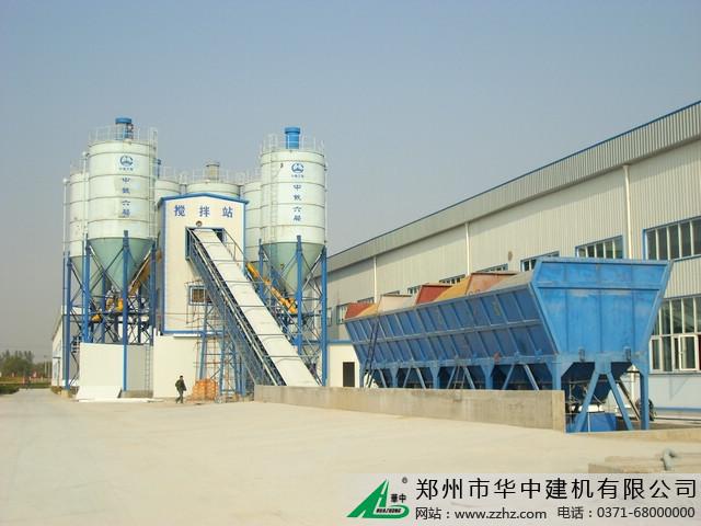 华中建机HZS搅拌站图片