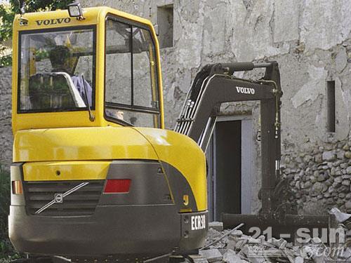 沃尔沃EC55B Pro挖掘机外观图1