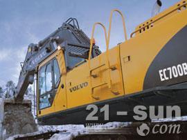 沃尔沃EC700B挖掘机