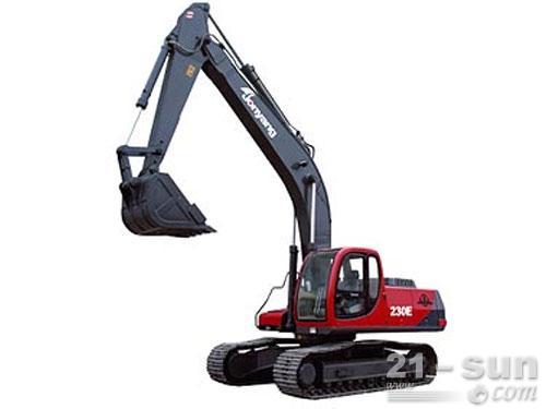 詹阳动力JY230E挖掘机外观图1