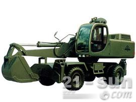 詹阳动力GJW111轮式挖掘机