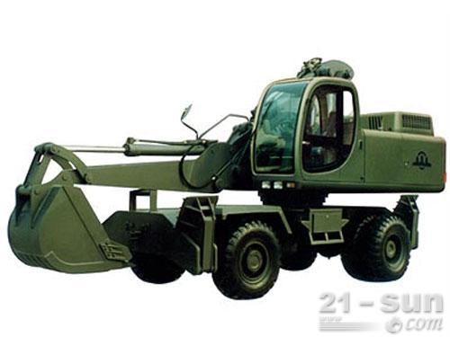 詹阳动力GJW111轮式挖掘机外观图1