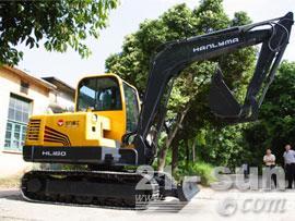 华力重工HL160挖掘机