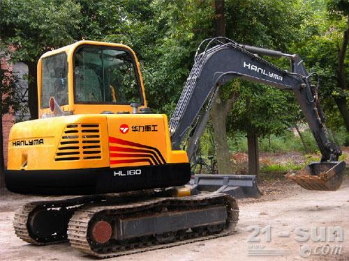 华力重工HL160挖掘机外观图2
