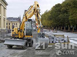 利勃海尔A 311 Litronic轮式挖掘机