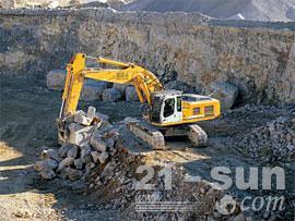 利勃海尔R 954 C Litronic挖掘机