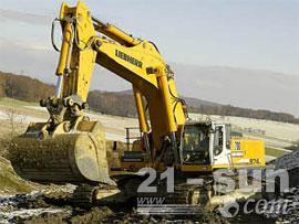 利勃海尔R 974 C Litronic挖掘机