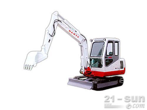 南特NT45履带挖掘机外观图1