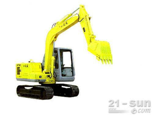 南特NT80挖掘机外观图1