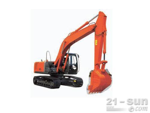 日立ZX200-3挖掘机外观图2