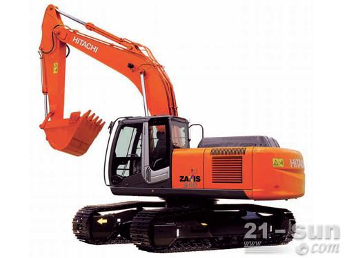 日立ZX240-3挖掘机外观图2