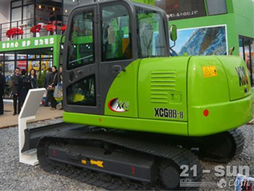 徐挖XCG88-8挖掘机外观图1