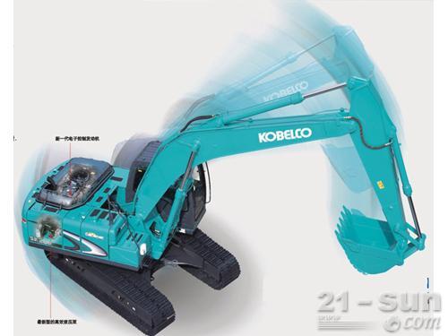 神钢SK260LC-8挖掘机外观图2