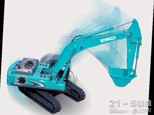 神钢SK460-8挖掘机外观图1