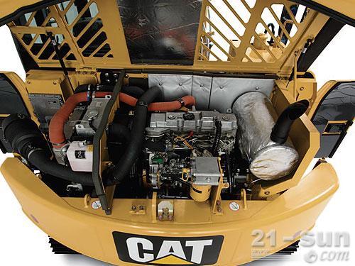 卡特彼勒307D挖掘机外观图1
