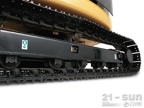 卡特彼勒307D挖掘机外观图2