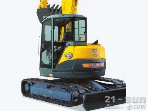 洋马ViO75-B挖掘机外观图2