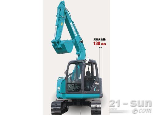神钢SK70SR-2挖掘机外观图2