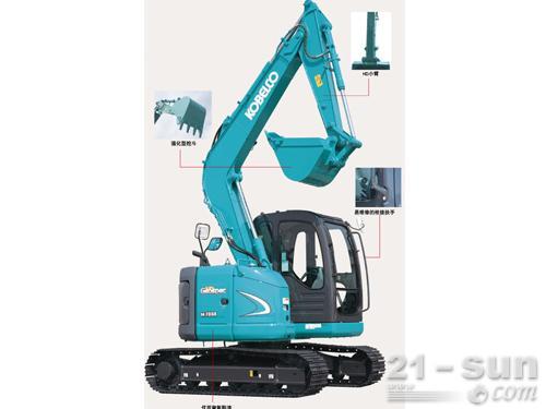 神钢SK70SR-2挖掘机外观图3