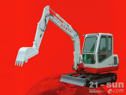 南特NT45履带挖掘机外观图2