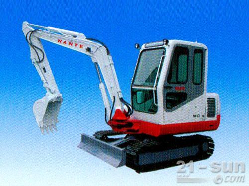 南特NT45履带挖掘机外观图3