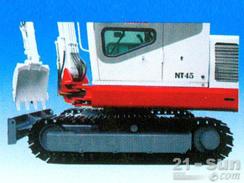 南特NT45履带挖掘机外观图4