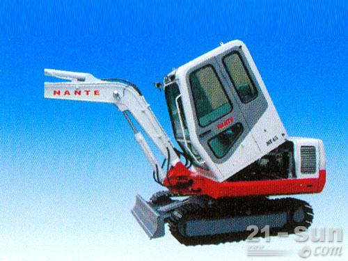 南特NT45履带挖掘机外观图5