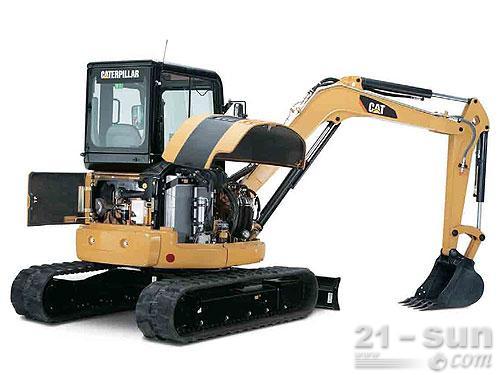 卡特彼勒305C CR挖掘机外观图4