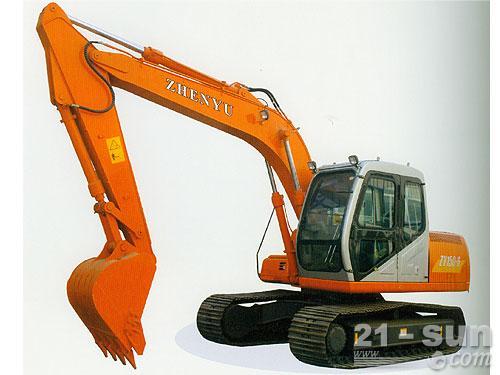 熔盛机械ZY150挖掘机外观图1