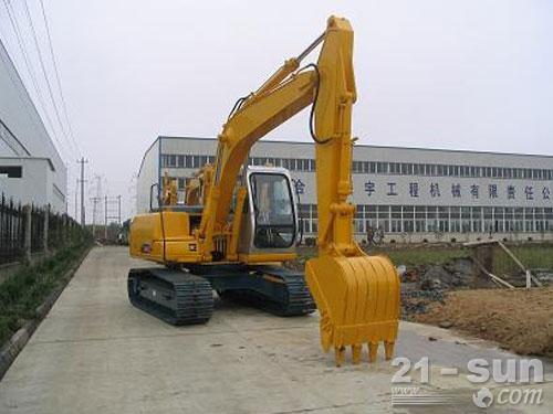 熔盛机械ZY150挖掘机外观图2