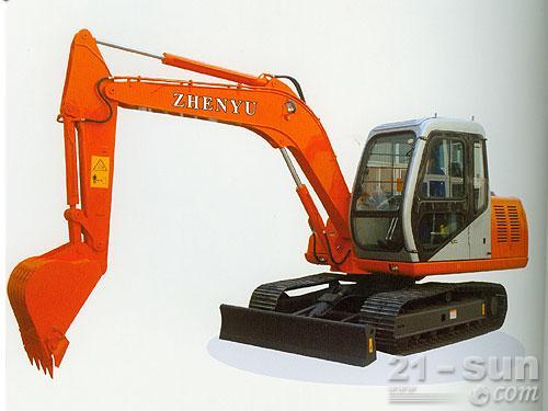 熔盛机械ZY80挖掘机外观图1