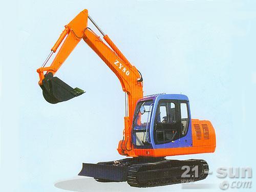 熔盛机械ZY80挖掘机外观图2