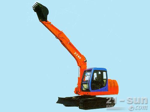 熔盛机械ZY80挖掘机外观图3